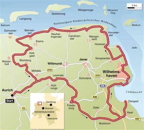 Motorrad Landkarten Deutschland by Ostfriesland Info Tourenfahrer
