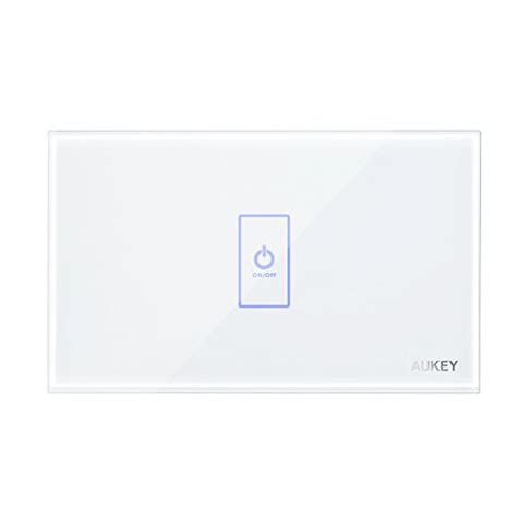 touch screen wall light switch aukey light switch wall light touch screen switch with