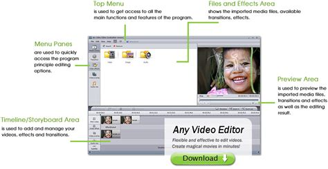 video editing software free download full version 32 bit any video editor pro 2018 full setup free download for