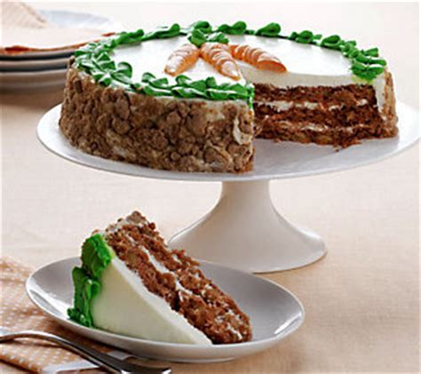 10 inch carrot cake sweet endings desserts 10 inch three layer carrot cake