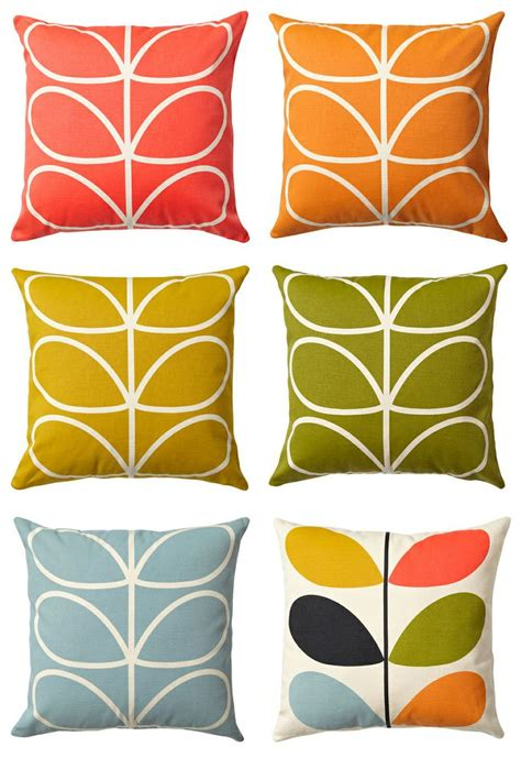 Mid Century Modern Living Room Ideas orla kiely pillows home too 2 pinterest orla keily