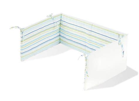 vorhang blau grün pinolino 650585 2 nestchen f 195 188 r kinderbetten streifen