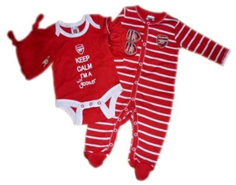 Baby Dress Arsenal Away 1516 37 best football arsenal baby clothes images on babies clothes baby dresses and