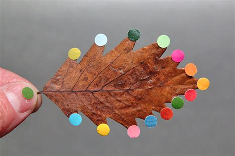 Handmade Artwork - 20 simple and easy diy fall leaf projects