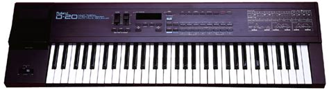 Keyboard Roland D20 the history of roland