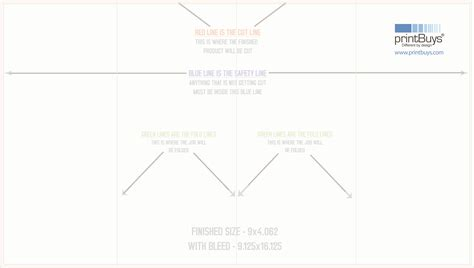 double gate fold brochure template