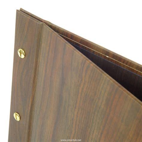 wood effect guest room folders smart hospitality supplies