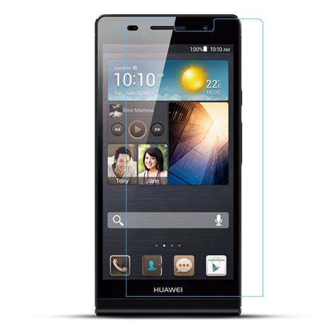 Tempered Glass For Huawei P6 tempered glass huawei ascend p6 screen protector 綷