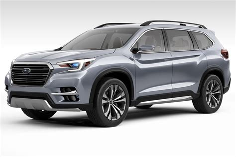 subaru america subaru goes big in america with ascent suv concept by