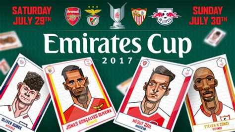 emirates cup emirates cup 2017 ticket information news arsenal com
