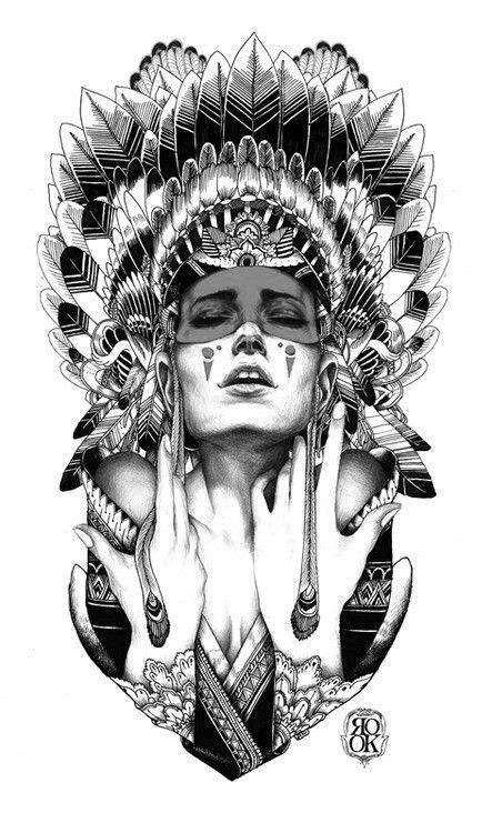 shaman tattoo designs amazing design indian shaman ink inked