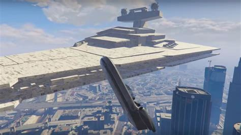 gta 5 starwars mod star wars vehicles invade los santos in new gta v mod