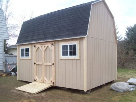 12 By 16 Shed by Gambrel Barns The Shed