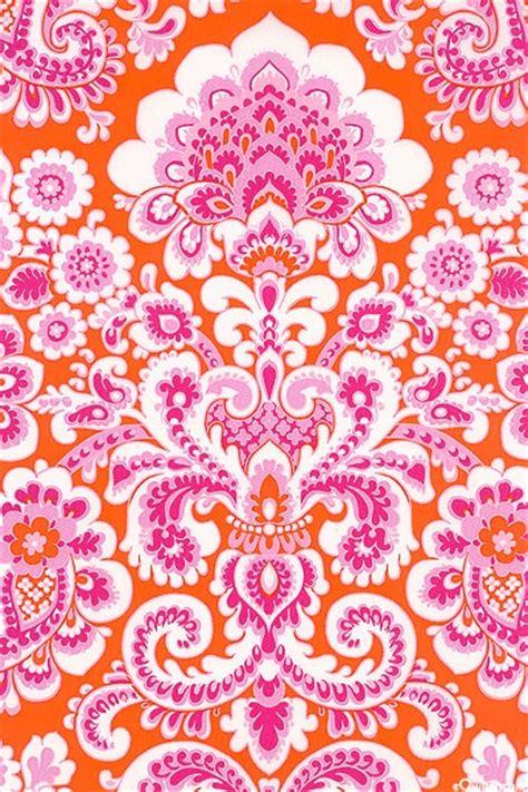 pattern pink orange orange and pink pattern surface design pinterest
