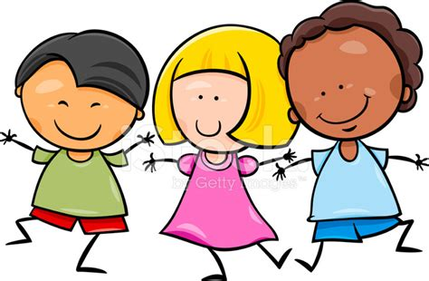 imagenes de niños alegres animados ilustraci 243 n de dibujos animados los ni 241 os multiculturales
