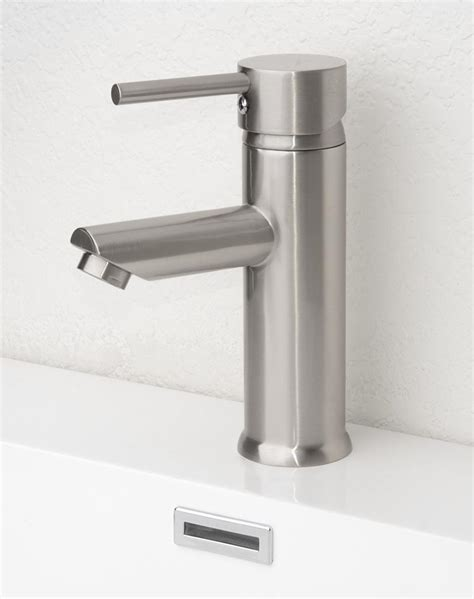 bathroom and kitchen faucets bathroom interesting brushed nickel bathroom faucets for