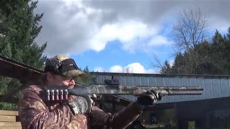 buckshot pattern youtube buck shot pattern test full choke vs improved cylinder