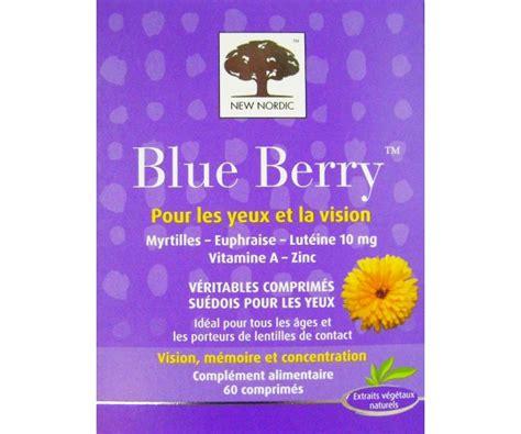 Blue Berry 1 Tunik New Invis new nordic blue berry 60 comprim 233 s pour les yeux et la vision parapharmacie pas chere