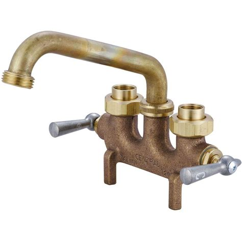 Replacement Parts For Kitchen Faucets by Central Brass Cast Brass Laundry Faucet 0465 The Home Depot