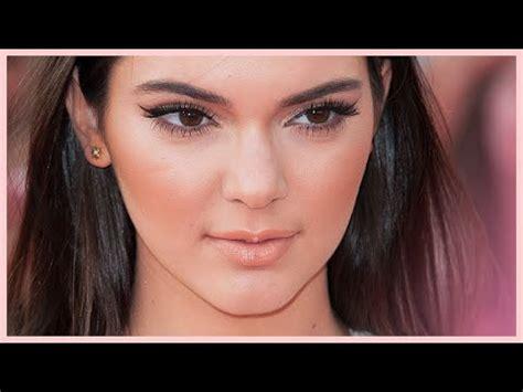 kylie jenner makeup tutorial natural kendall jenner natural glowy glam makeup tutorial youtube