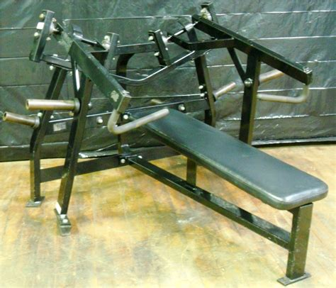 bench press horizontal horizontal bench press machine hammerstrength