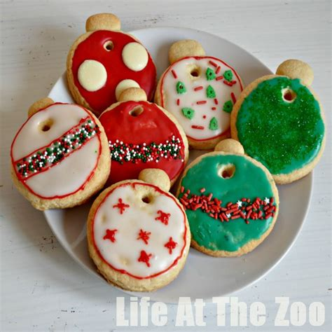 virtual advent calendar bauble cookies life at the zoo