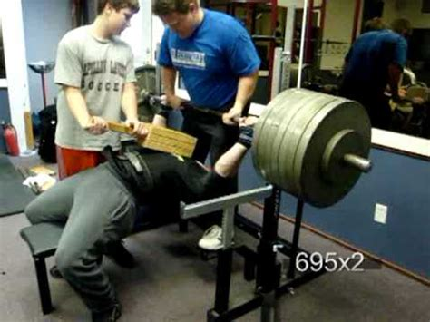 powerlifting bench workout tim anderson powerlifting bench workout youtube