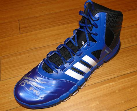 Adidas Shoe Giveaway - warriors world giveaway adidas crazy ghost basketball shoe signed by harrison barnes
