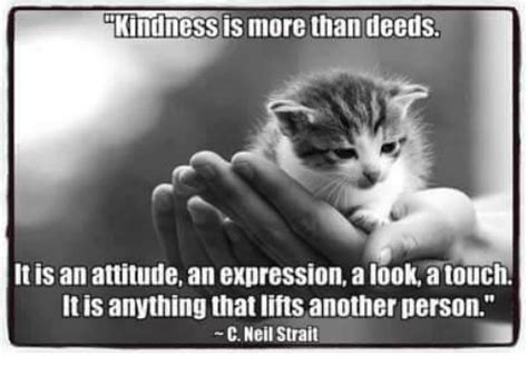 It Is What It Is Meme - kindness is more than deeds it is an attitude an