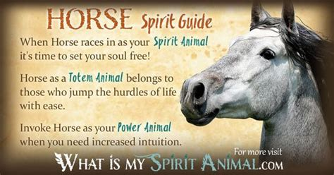printable spirit animal quiz your animal spirit guide for nov 15th is the horse