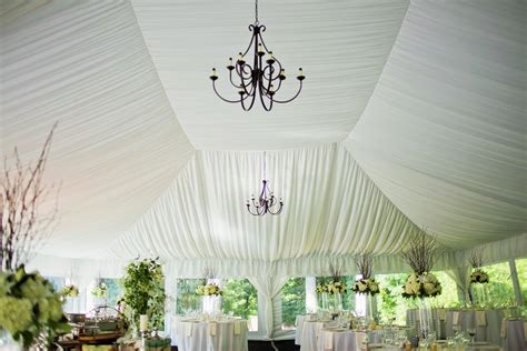 tent draping fabric tent ceiling liner rental blue peak tents inc