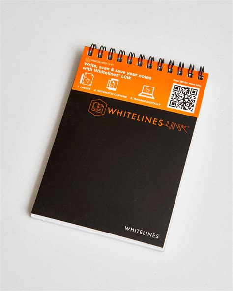 wire  lined spiral notebook whitelines