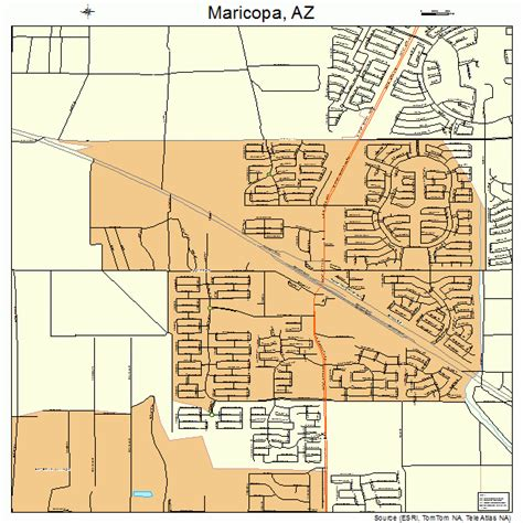 Maricopa Az Court Records Maricopa County Arizona City Map Foto 2017