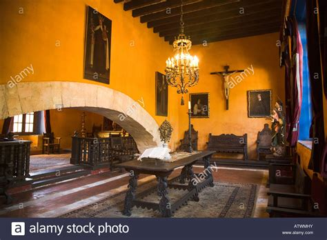 mexico guanajuato colonial home interior wealthy silver