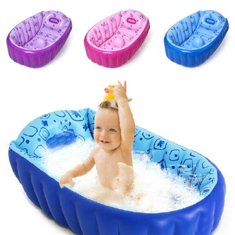 inflatable bathtub for baby 2017 retail inflatable baby bathtub newborns bathing tub