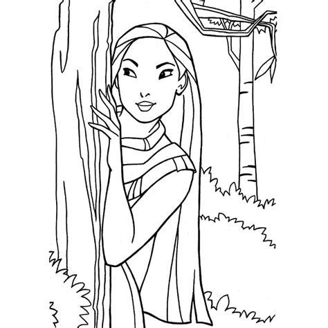 indian princess coloring page coloriage disney 209 dessins 224 imprimer et 224 colorier