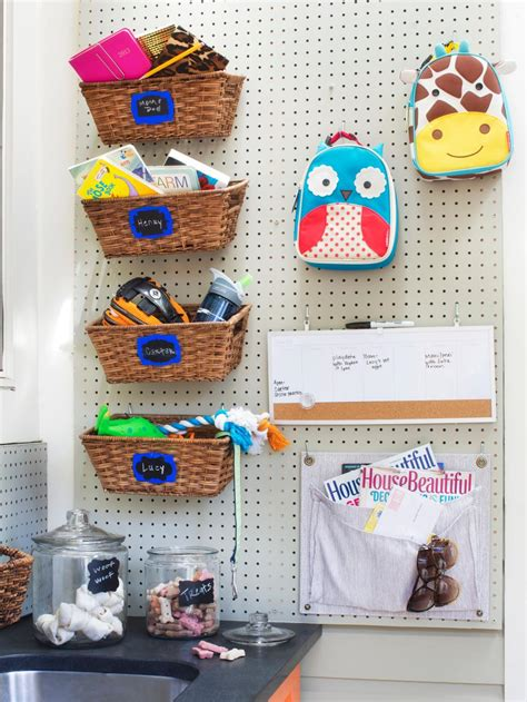 pegboard ideas 13 creative pegboard ideas hgtv