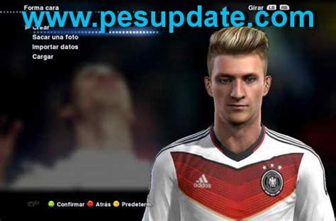 pes 2013 new hair styles 2015 pes patch pes 2013 new hair marco reus faces update 2015