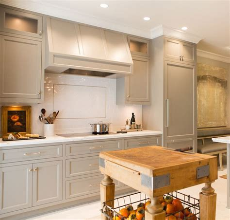 cabinet paint color is river reflections from benjamin moore beautiful warmer gray chelsea kitchen cabinets painted gray transitional kitchen