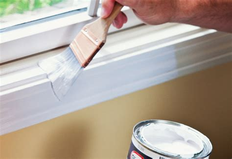 spray painting trim how to paint trim