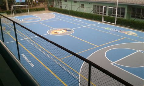 Sale Mainan Anak Bola Basket Jaring jasa pembuatan lapangan futsal tenis basket bulu tangkis sepak bola dan badminton gawang