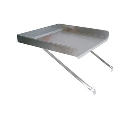 John Boos BDDS8 18 X Add on Stainless Steel Drainboard for