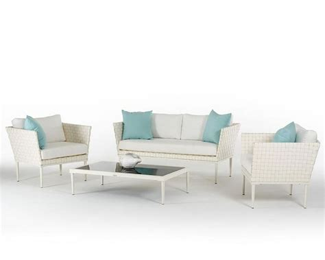 white wicker outdoor set contemporary outdoor white wicker sofa set 44p206 set