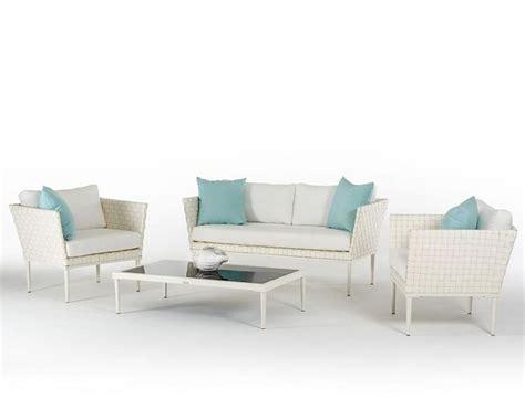 white wicker outdoor sofa contemporary outdoor white wicker sofa set 44p206 set