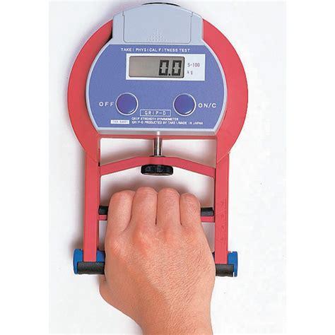 takei grip dynamometer digital 5401 cartwright fitness
