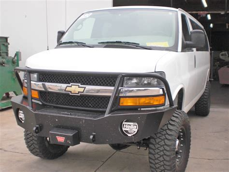 chevrolet bumpers chevy express winch bumper aluminess