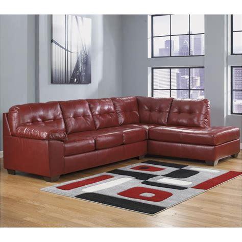 ashley furniture alliston sectional 2010066 ashley furniture alliston durablend salsa laf sofa