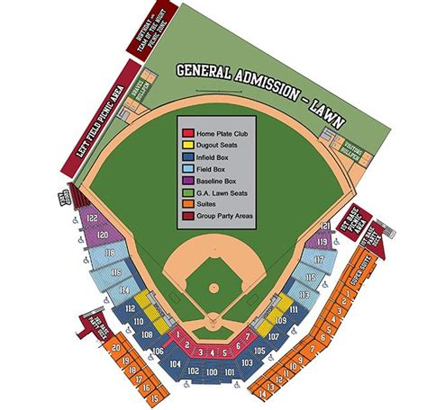 coolray field seating chart gwinnett braves content