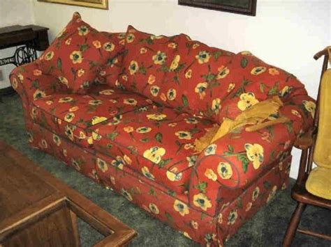 red floral couch red floral sofa