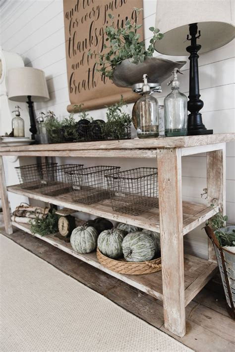 60 Diy Rustic Farmhouse Kitchen Diy Farmhouse Style Buffet Dining Room Buffet Entryway